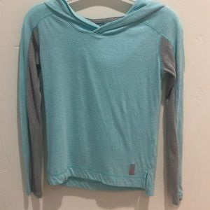 Girls turquoise sweater